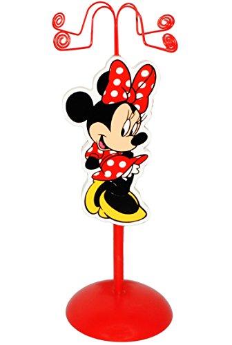 Unbekannt Schmuckbaum aus Holz - für Ketten + Armbänder -  Disney Minnie Mouse  - zum Hinstellen - Tischausteller - Deko für Kinder + Erwachsene - Kinderzimmer - Kind.. - 4
