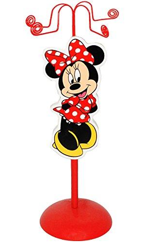 Unbekannt Schmuckbaum aus Holz - für Ketten + Armbänder -  Disney Minnie Mouse  - zum Hinstellen - Tischausteller - Deko für Kinder + Erwachsene - Kinderzimmer - Kind.. - 1