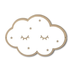VORCOOL Wolken Spiegel 3D Kinderspiegel Acryl Wolken Wanddekoration für Kinderzimmer Schlafzimmer - 1