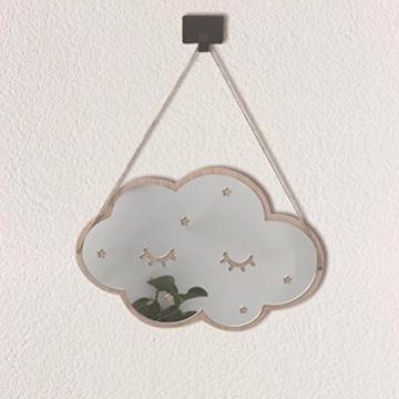 VORCOOL Wolken Spiegel 3D Kinderspiegel Acryl Wolken Wanddekoration für Kinderzimmer Schlafzimmer - 5