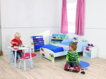 Fahrzeuge - Hängefach-Bücherregal für Kinder – Büchergestell für das Kinderzimmer - 4