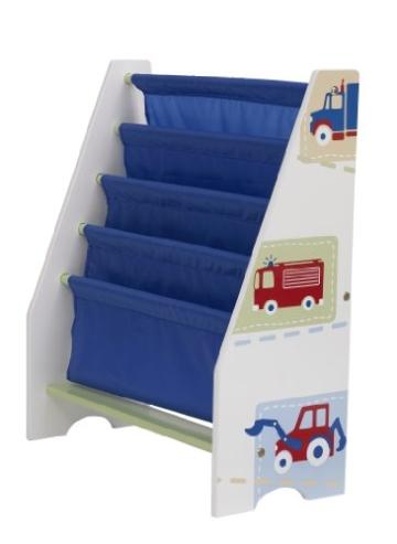 Fahrzeuge - Hängefach-Bücherregal für Kinder – Büchergestell für das Kinderzimmer - 1