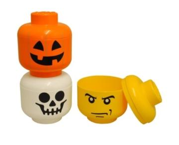 LEGO Lizenzkollektion 40310109 - Aufbewahrungskopf, S, klein, Geist - 2