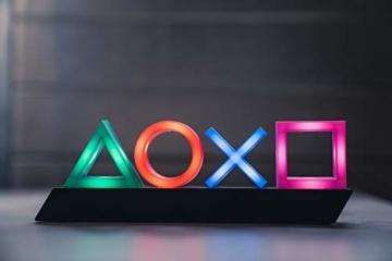 Playstation PP4140PS Tasten Symbol Lampe mit Farbwechsel Funktion, Mehrfarbig - 1