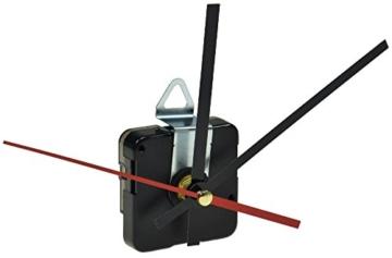 PREMIUM Quarz Uhrwerk mit 3x Zeigersatz Zeiger Uhr Wanduhr DEKO Bastler Ersatz - 1