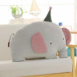 Bangtan Sofa Kissen, Extra Dick und Extra Flauschig Kuschelkissen Plüsch Puppe Kissen Kastenkissen Dekokissen für Sofa Schlafzimmer Auto | Beste Geschenk für The Army (50CM, Elefant) - 1