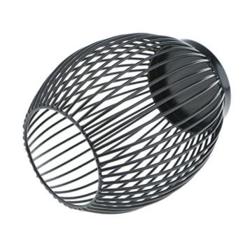 D DOLITY Metall Draht Kerzenleuchter Kerzenhalter, Oval Korb Halter - S - 4