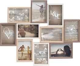 Gallery Solutions Collage Mixed Colours 10 Fotos à 10x15 cm, Außenformat: 56x45x2,5 cm - 1