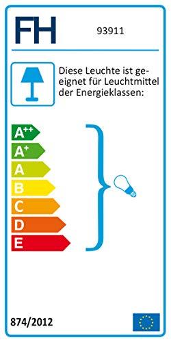Honsel Leuchten Tischleuchte Pibe 93911, 1x E14 max. 40W - 4