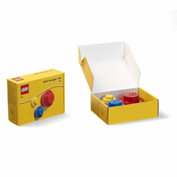 LEGO Wandhalter-Set (Gelb, Hellblau, Rot), Mix, klein, mittel und groß, Small, Medium and Large - 2