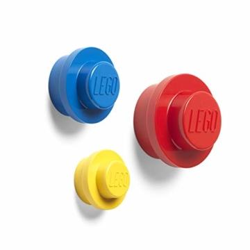 LEGO Wandhalter-Set (Gelb, Hellblau, Rot), Mix, klein, mittel und groß, Small, Medium and Large - 1