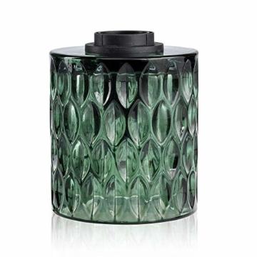 Pauleen Crystal Magic Tischleuchte max. 20W Tischlampe für E27 Lampen Nachttischlampe Grün 230V Glas ohne Leuchtmittel 48023 - 9