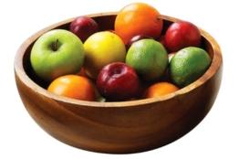 Premier Housewares Kora Fruit, SalatSchüssel, Akazienholz - 1