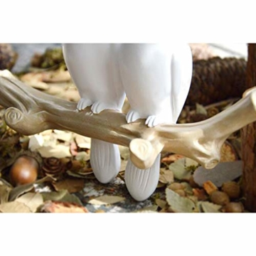 SM SunniMix Vögel auf Baum Design Garderobenhaken Kleiderhaken Wandhaken Mantelhaken, bis 4 Vögel - 3 Vögel - 7