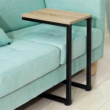 SoBuy® FBT44-N Betttisch Beistelltisch Kaffeetisch Sofatisch Laptoptisch Pflegetisch BHT ca: 30x60x40cm - 6