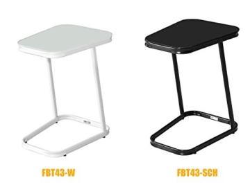 SoBuy® FBT44-N Betttisch Beistelltisch Kaffeetisch Sofatisch Laptoptisch Pflegetisch BHT ca: 30x60x40cm - 8