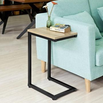 SoBuy® FBT44-N Betttisch Beistelltisch Kaffeetisch Sofatisch Laptoptisch Pflegetisch BHT ca: 30x60x40cm - 9