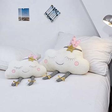 AMhomely® Neu!Weiches PlüschKissen niedlich Wolke Kissen Dekorative Kissen für Kinder Fotografie-Requisiten-Hintergrund, Sofa-Rückenkissen, Rundkissen, Hausdekoration (40 * 26cm) - 2
