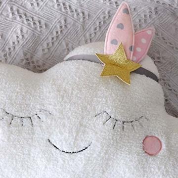 AMhomely® Neu!Weiches PlüschKissen niedlich Wolke Kissen Dekorative Kissen für Kinder Fotografie-Requisiten-Hintergrund, Sofa-Rückenkissen, Rundkissen, Hausdekoration (40 * 26cm) - 3