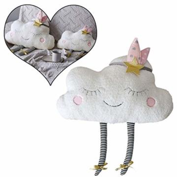 AMhomely® Neu!Weiches PlüschKissen niedlich Wolke Kissen Dekorative Kissen für Kinder Fotografie-Requisiten-Hintergrund, Sofa-Rückenkissen, Rundkissen, Hausdekoration (40 * 26cm) - 1