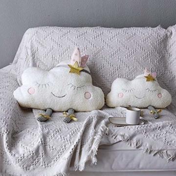 AMhomely® Neu!Weiches PlüschKissen niedlich Wolke Kissen Dekorative Kissen für Kinder Fotografie-Requisiten-Hintergrund, Sofa-Rückenkissen, Rundkissen, Hausdekoration (40 * 26cm) - 6