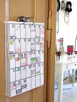 DIN A3 Wandkalender (18 Monate Laufzeit) z.B. Jan 2020 - Jun 2021 - 1