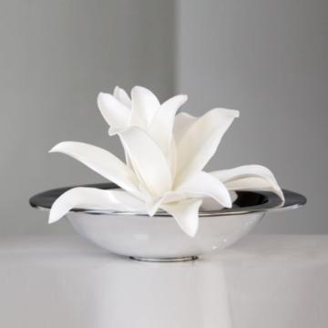 Kunstblume Foam Flower in Weiß - 2