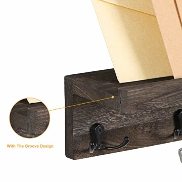 LIANTRAL Schwebende Regale Wand Schlüsselhalter 2er Set Bhk05-2a1 - 7