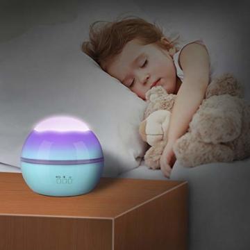 Spielzeug Junge 1-10 Jahre, Dreamingbox Sternenhimmel Projektor Nachtlicht für Kinder Spielzeug für Mädchen 1-10 Jahre 2019 Geburtstag Geschenke Mädchen 1-12 Jahre Weihnachten Geschenk für Jungen Blau - 3