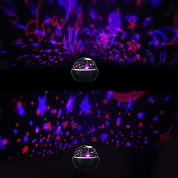 Spielzeug Junge 1-10 Jahre, Dreamingbox Sternenhimmel Projektor Nachtlicht für Kinder Spielzeug für Mädchen 1-10 Jahre 2019 Geburtstag Geschenke Mädchen 1-12 Jahre Weihnachten Geschenk für Jungen Blau - 6