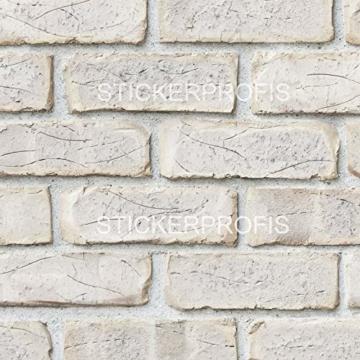 StickerProfis Küchenrückwand selbstklebend - GEKALKTE Wand - 1.5mm, Versteift, alle Untergründe, Hart PET Material, Premium 60 x 80cm - 9