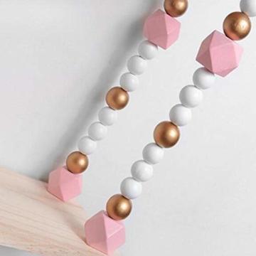 voloki Dekorative Wandbehang Regal, Swing Rope Shelf Wandregal schwimmenden Rahmen nach Hause dekorativ - 5