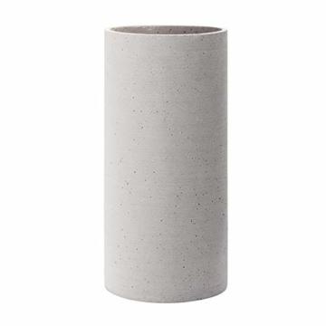 Blomus Coluna Vase, Beton, hellgrau, H 29 cm, Ø 14 cm - 1