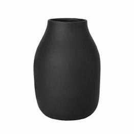 Blomus Vase-65701 Vase, Peat, H 20 cm, Ø 14 cm - 1