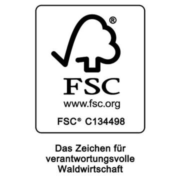 Deuba Balkonhängetisch Klappbar FSC®-zertifiziertes Akazienholz Hängend 64 x 45 cm Balkontisch Hängetisch Balkon Geländer - 3