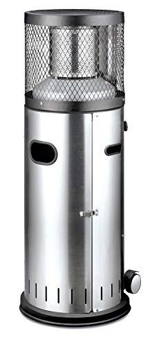 Enders Terrassenheizer Gas POLO 2.0, Gas-Heizstrahler 5460, Terrassenstrahler mit stufenloser Regulierung, ENDUR Reflektionssystem, Transporträder, Umkippsicherung - 2