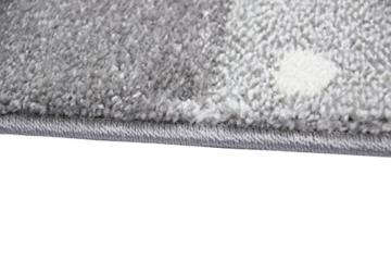 Kinderteppich Spielteppich Teppich Kinderzimmer Babyteppich mit Herz Stern in Rosa Weiss Grau Größe 80x150 cm - 7