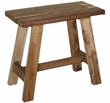 LioLiving®, Hocker West aus recyceltem Massivholz (#400156) - 3