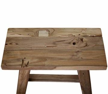 LioLiving®, Hocker West aus recyceltem Massivholz (#400156) - 4