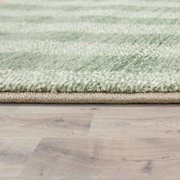 Paco Home Kinderteppich, Moderner Kinderzimmer Pastell Teppich, Niedliche 3D Tiermotive, Grösse:80x150 cm, Farbe:Mehrfarbig - 2
