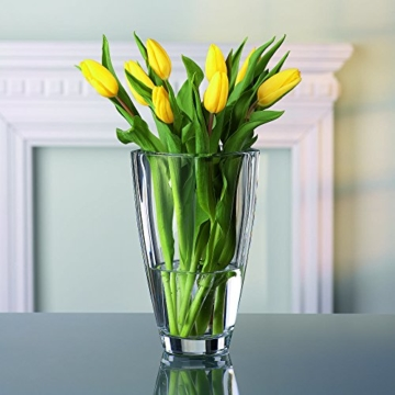 Spiegelau & Nachtmann, Vase, Kristallglas, 25 cm, 0083736-0, Carre - 5