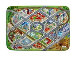 Spielteppich Ultrasoft - Rutschfest 100 x 150 cm (Stadt) - 1