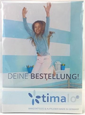 timalo® 120 Stück Wandtattoo Kinderzimmer Kreise Pastell Wandsticker – Aufkleber Punkte | 73078-SET10-120 - 3