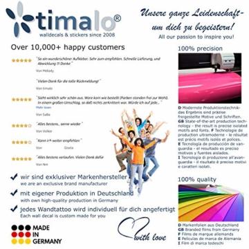 timalo® 120 Stück Wandtattoo Kinderzimmer Kreise Pastell Wandsticker – Aufkleber Punkte | 73078-SET10-120 - 6