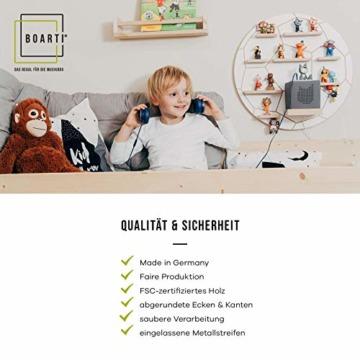 BOARTI Kinder Regal Trecker small in Grau - geeignet für die Toniebox und ca. 23 Tonies - zum Spielen und Sammeln - 2