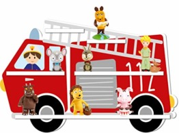 Tonies Regal Motiv Feuerwehr/für etwa 25-30 Tonie Figuren / 45 x 40 cm/magnetisch - 1
